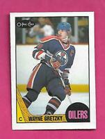 1987-88 OPC # 53 OILERS WAYNE GRETZKY GOOD CARD (INV# D1028)
