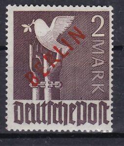 Berlin Nr. 34  postfrisch, geprüft BPP Schlegel (2 M )