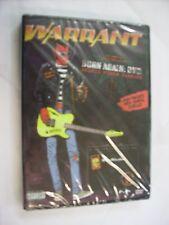 WARRANT - BORN AGAIN - DVD NEW SEALED 2007