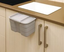 Essensa Bioboy Hang-On Food Waste Bin With Lid 4.2 Litre Easy Clean