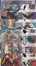 Fantasy Banknotes GREEK MYTHOLOGIE GOD AND GODDESSES SET NEW