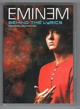 DVD ★ EMINEM - BEHIND THE LYRICS ★ MUSIQUE - CONCERT (RAP - HIP-HOP)