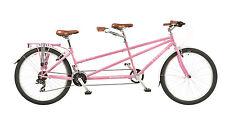 "Viking Pink Link 17""/15"" Mountain Bike Ladies Tandem 21 Speed RRP £549.99"