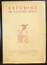 Estudios de Cultura Maya Volumen VIII 1970 Mexico Archaeology