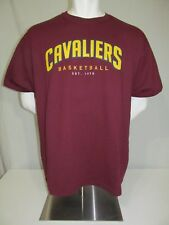 Used 2000s SGA Cleveland Cavaliers Basketball NBA Screened T-Shirt XL