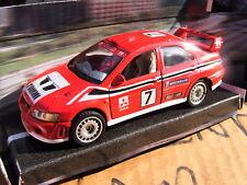 "Mitsubishi Evo 3 4 5 6 7 8 9 10 Racer Drifting Red ""PIAA Racing"" 1-35th Scale"