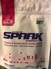 AdvoCare Spark Fruit Punch Energy Drink Sticks NIB!