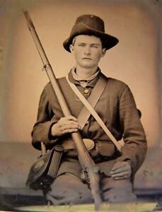 Master Series Collection Civil War Soldier Ninth-Plate Tintype C2732RP