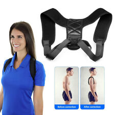 Posture Corrector Back Shoulder Support Body Brace Belt Lumbar Wellness Men Wom