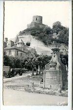 CP 95 Val-d'Oise - La Roche-Guyon - Le Château et la vieille Fontaine