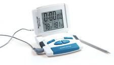 Norpro Electronic Digital Read Thermometer Timer - Meat - Deep Fry - BBQ