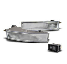 2003-2007 SCION XB FRONT BUMPER CHROME FOG LIGHTS LAMP W/BULB+SWITCH KIT