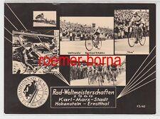 75045 Mehrbild Ak Rad-Weltmeisterschaften Karl-Marx-Stadt Hohenstein-Ernst. 1960