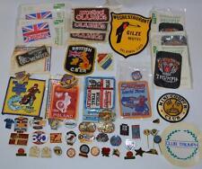 Vintage Job Lot Speedway Finals Motorcycle Motorbike Badges Pins& Other-Pl-2449
