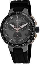 New Tissot T-Race Chronograph Black Dial Men's Watch  T111.417.37.441.07