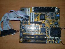 Motherboard Socket 7 AGP VIA LS 5MVP3 V4.0 AMD K6-2/450MHz+RAM128Mb+Cable Tested