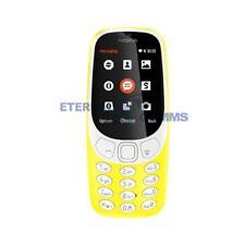 NEW NOKIA 3310 (2017) DUMMY DISPLAY PHONE - YELLOW - UK SELLER
