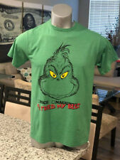"""Grinch Dr Seuss Childrens Book Christmas T-Shirt """"Tried My Best"""" Animated Tee"""
