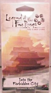 Legend of the Five Rings. Dynasty Pack 'Into the Forbidden City' (GY23)