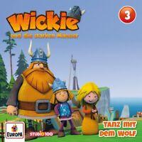 WICKIE - 03/TANZ MIT DEM WOLF (CGI)   CD NEU