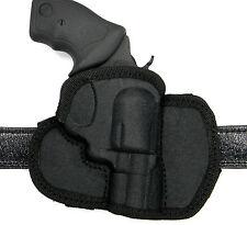 CEBECI Tactical Nylon OWB Open Top RH Belt Holster - RUGER LCR 38 REVOLVER