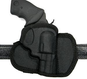 """Right Hand Molded Nylon OWB Belt Holster for TAURUS TRACKER 627 REVOLVER 6/"""""""