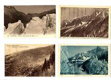 CPA 74 Haute-Savoie Chamonix Lot de 4 cartes