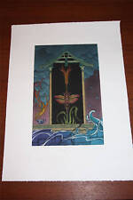 The Year of the Locust print by Sharon Augusta Mitchell