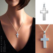 PENDENTIF Croix en ARGENT 925 et NACRE - Neuf