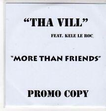 (BS345) Tha Vill ft Kele Le Roc, More Than Friends - DJ CD