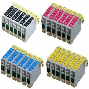 24x Patronen für Epson XP335 XP430 XP432 XP435 XP245 XP247 XP342 XP345 442 XP445