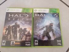 Lot of 2, Halo 4 & Reach XBOX 360 (Video Games)