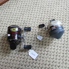 Zebco 33 fishing reel & Zebco 202 (lot#7663)