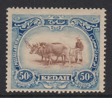 Malaya (Kedah) - 1921/32 con Wmk. Corona a izquierda de ca Perfecto Sg.36 Bw (Ref.d 53)