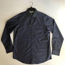 Hart Schaffner Marx Mens Polka Dots Shirt Button Front LS Cotton Sz  M 💰98
