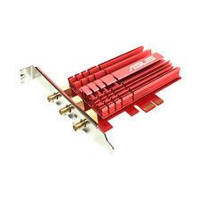 Asus pce-ac68 ac1900 dual-band Wi-Fi PCIe-mapa (802.11 a/b/g/n/ac, PCIe, externamente