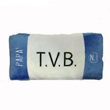 PAPA' cojín peluches a forma placa coche blanco azul TVB acerca de 22x11x4 cm