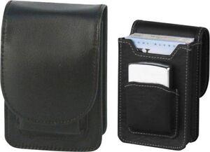 Zigaretten-Packungsetui Leder/Fach für Zippo 85mm mit Magnetverschluss