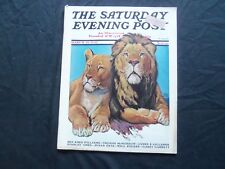 1932 MARCH 19 THE SATURDAY EVENING POST MAGAZINE - ILLUSTRATED COVER -SP 1456
