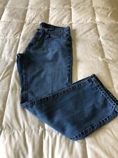 Tommy Hilfiger Mens 34/30 Denim Jeans, Relaxed Fit, Straight Cut, Medium Wash