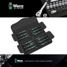 Wera Tools Kraftform Micro 12 Juego de 12 piezas de electrónica 1 Destornillador Electrónica