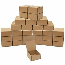 30 Pack Small Shipping Boxes 4x4x2 Corrugated Small Cardboard Boxes For Packag