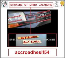 Stickers Renault super 5 GT Turbo Monogramme Calandre Badge insigne R5 PHASE 1