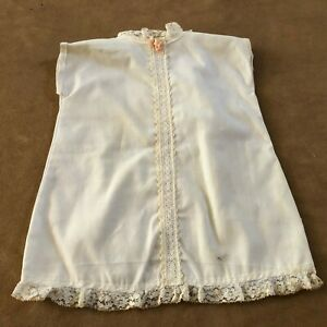 Slip dress Vintage Baby zipper sleeveless dress clothing Reborn doll sheath
