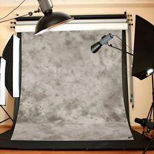 8x10FT Vinyl Gray Concrete Wall Photography Backdrop Background Photo Studio