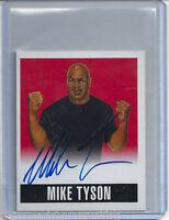 MIKE TYSON 2014 LEAF ORIGINALS WRESTLING RED #4/5 ALT AUTO AUTOGRAPH CARD WWE