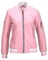 KangaRoos Damen Bomberjacke Blouson Bomber Jacke kurz rosa