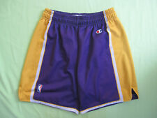 Short Basket Lakers Los Angeles Champion USA Basketball NBA Vintage - L
