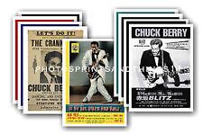Chuck Berry - 10 PROMOZIONALE POSTER - DA COLLEZIONE Cartolina Set #1