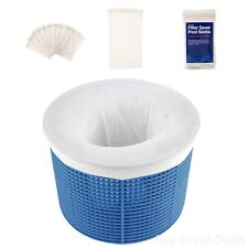 Pool Skimmer Socks 10 Pack Set Filters Baskets Swimming Outdoor Cleaner New